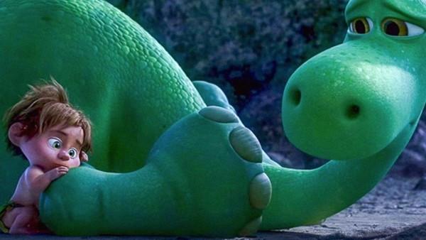 "Spot and Arlo (Voice of Raymond Ochoa) in ""The Good Dinosaur"""