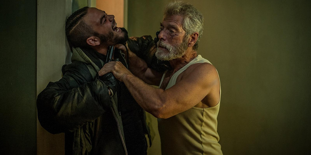 "Daniel Zovatto and Stephen Lang in ""Don't Breathe"""