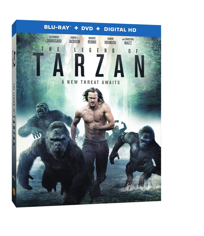 The Legend of Tarzan Comes to Digital HD September 20th and Blu-ray/DVD October 11th