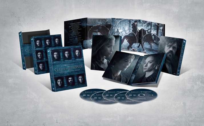 Game of Thrones: The Complete Sixth Season Comes to Digital HD August 1st and Blu-ray/DVD November 1