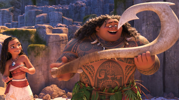 Moana: Great Music and Characters Lift a Familiar Tale (Blu-ray)