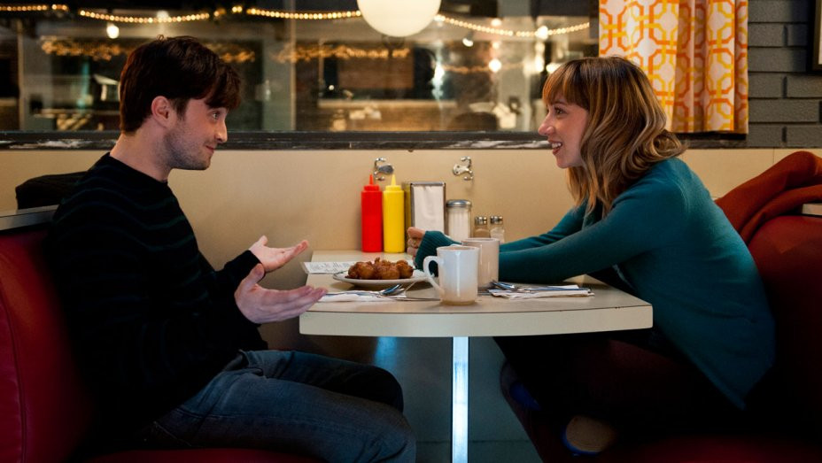 """Daniel Radcliffe and Zoe Kazan in """"What If"""""""