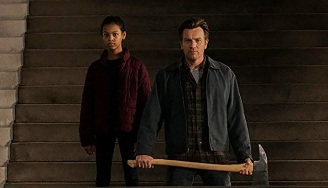 "Kyliegh Curran and Ewan McGregor in ""Doctor Sleep"""