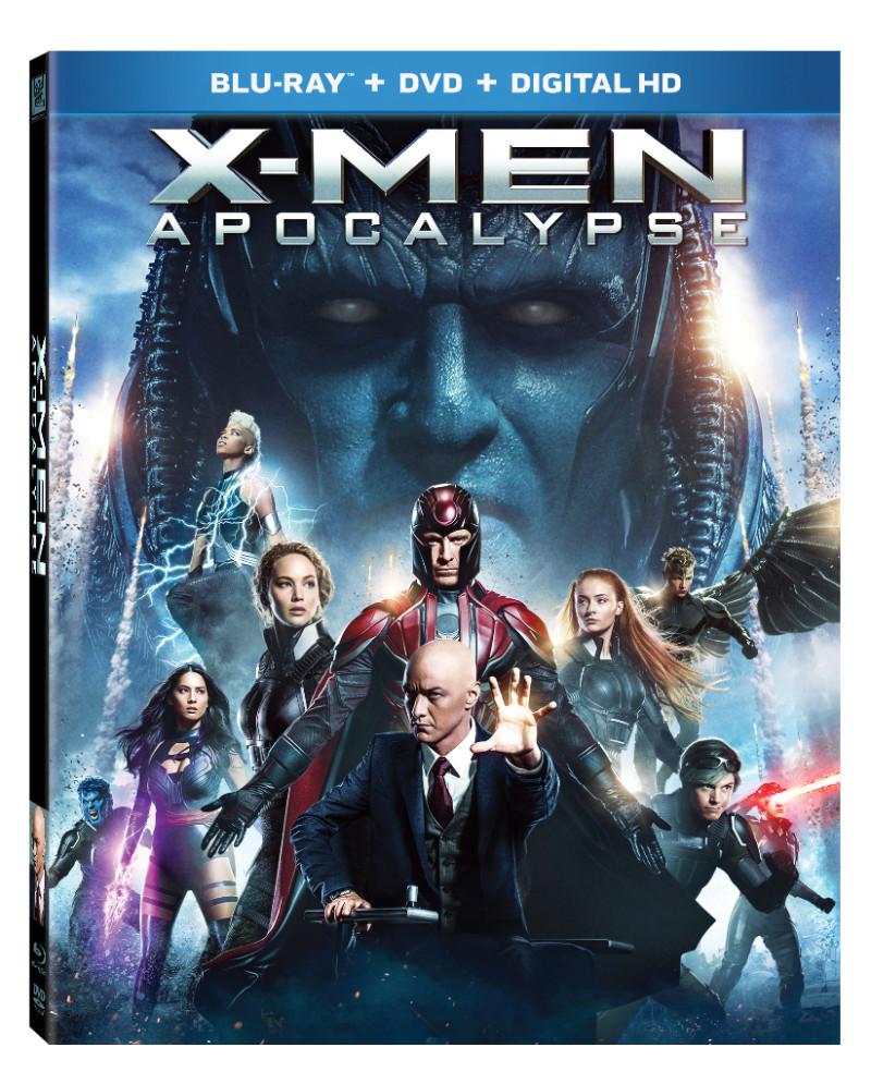 "Blu-ray cover art for ""X-Men: Apocalypse"""