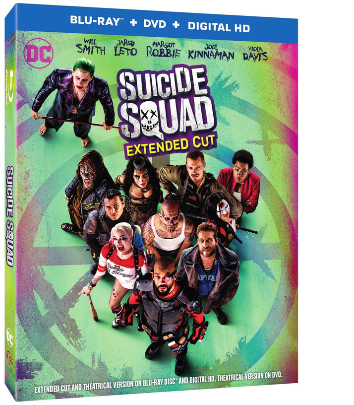 Suicide Squad Comes to Digital HD on November 15th and Blu-ray/DVD on December 13th
