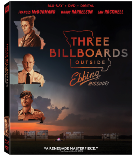 Three Billboards outside Ebbing, Missouri Comes to Digital HD February 13th and Blu-ray/DVD February