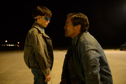 "Jaeden Lieberher and Michael Shannon in ""Midnight Special"""