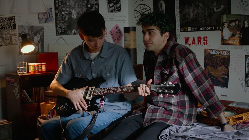 "Asa Butterfield and Alex Wolff in ""The House of Tomorrow"""