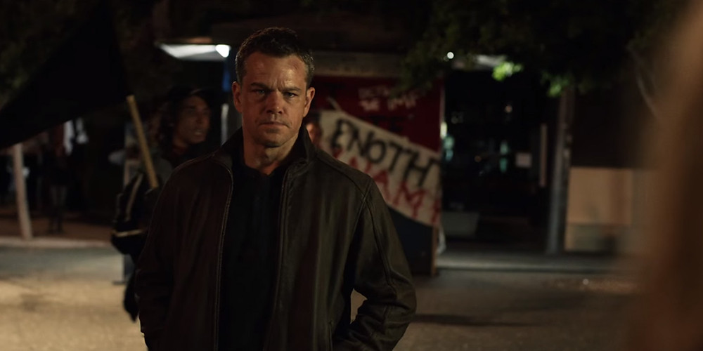 "Matt Damon in ""Jason Bourne"""