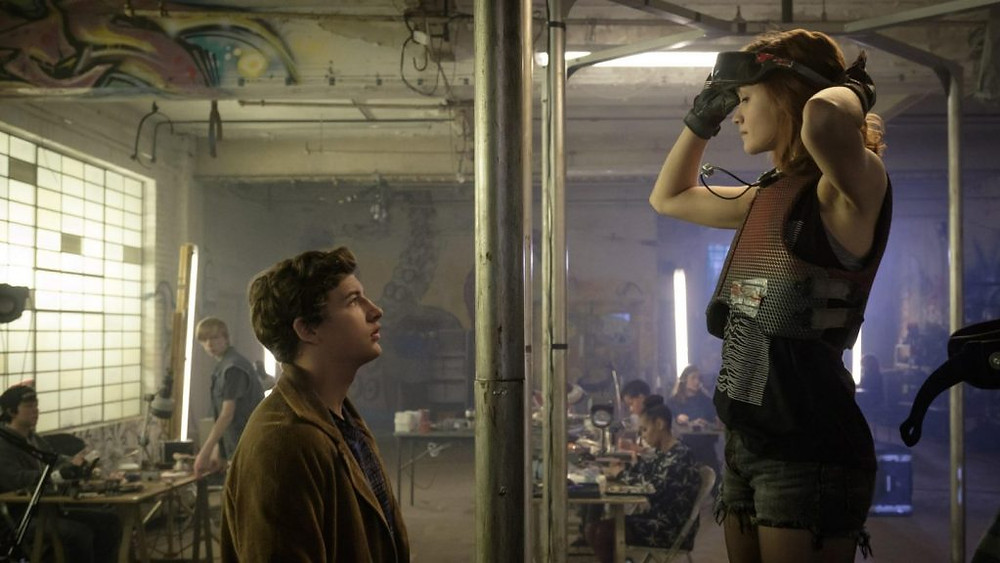 "Tye Sheridan and Olivia Cooke in ""Ready Player One"""
