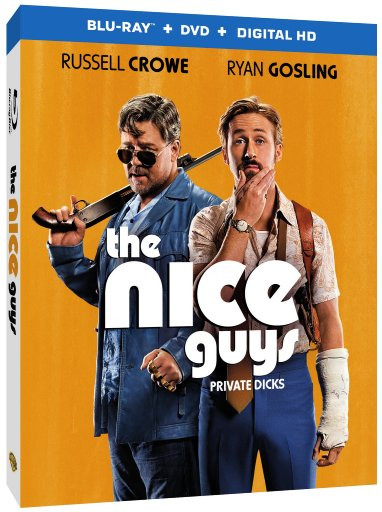 The Nice Guys Comes to Digital HD August 9th and Blu-ray/DVD August 23rd