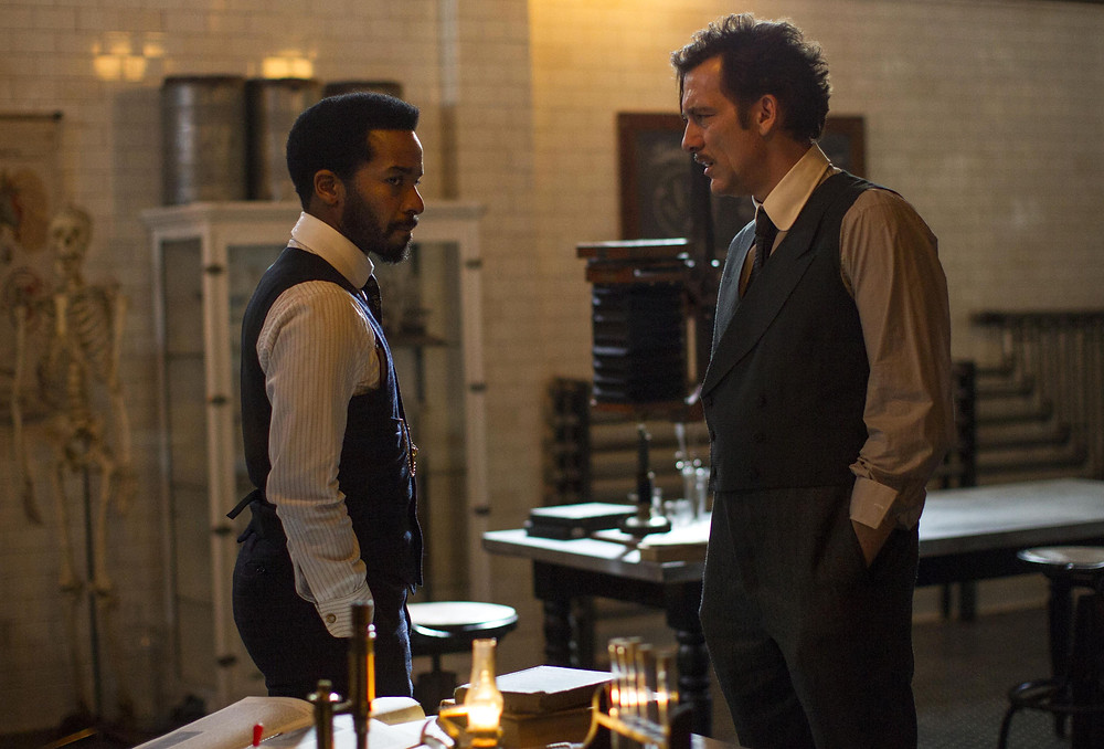 "Andre Holland and Clive Owen in ""The Knick"""