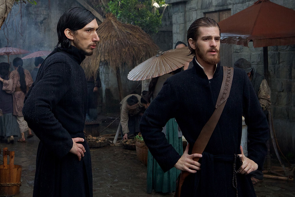"Adam Driver and Andrew Garfield in ""Silence"""