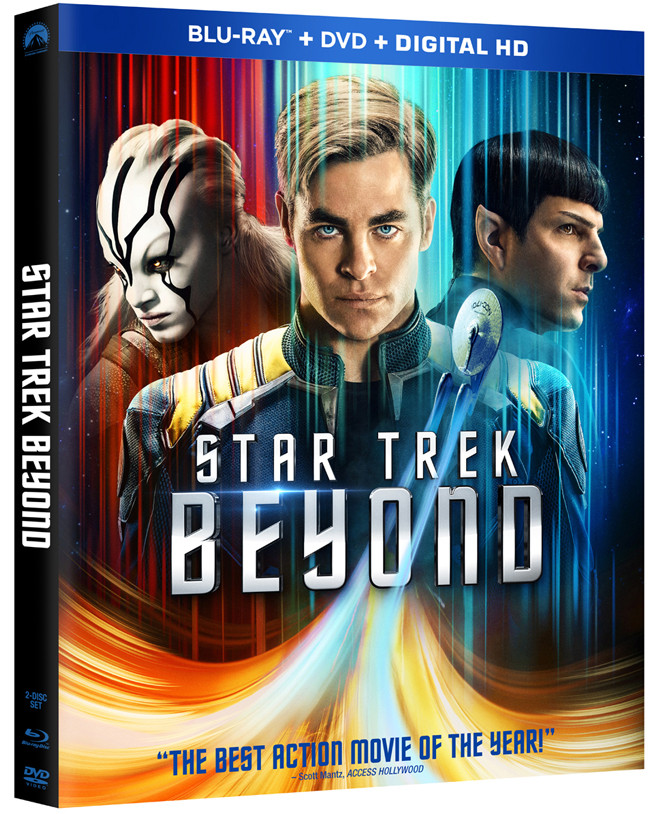 Star Trek Beyond Comes to Digital HD on October 4th and Blu-ray/DVD on November 1st