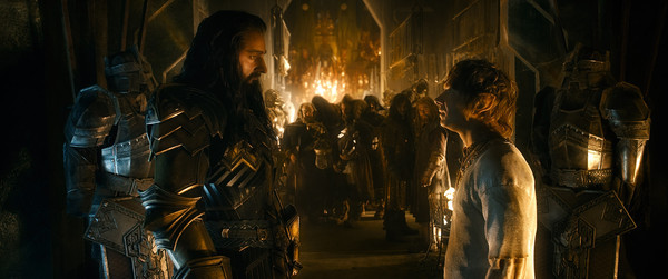 """Richard Armitage and Martin Freeman in """"The Hobbit: The Battle of the Five Armies"""""""