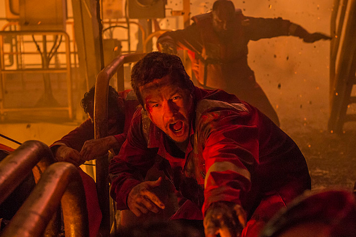 "Mark Wahlberg in ""Deepwater Horizon"""