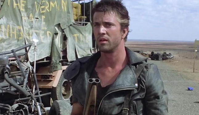 "Mel Gibson in ""Mad Max'"