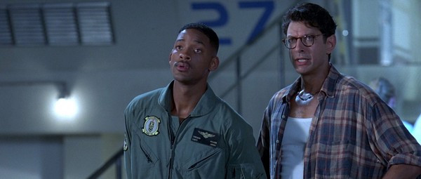 "Will Smith and Jeff Goldblum in ""Independence Day"""