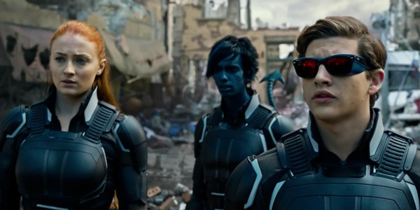 "Spohie Turner, Kodi Smit-McPhee, and Tye Sheridan in ""X-Men: Apocalypse"""