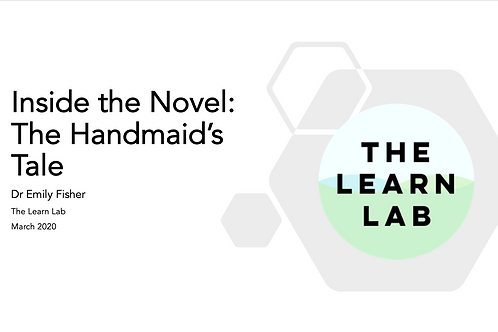 Inside the Novel: The Handmaid's Tale Scheme of Work