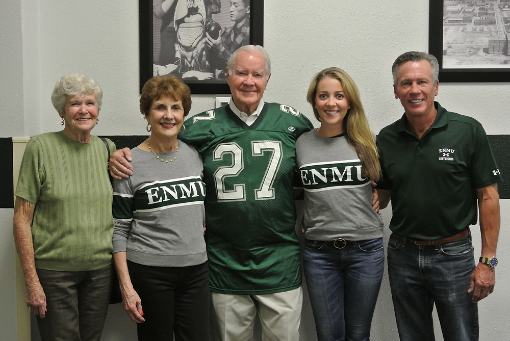 Al and Lacy Whitehead pose with family members