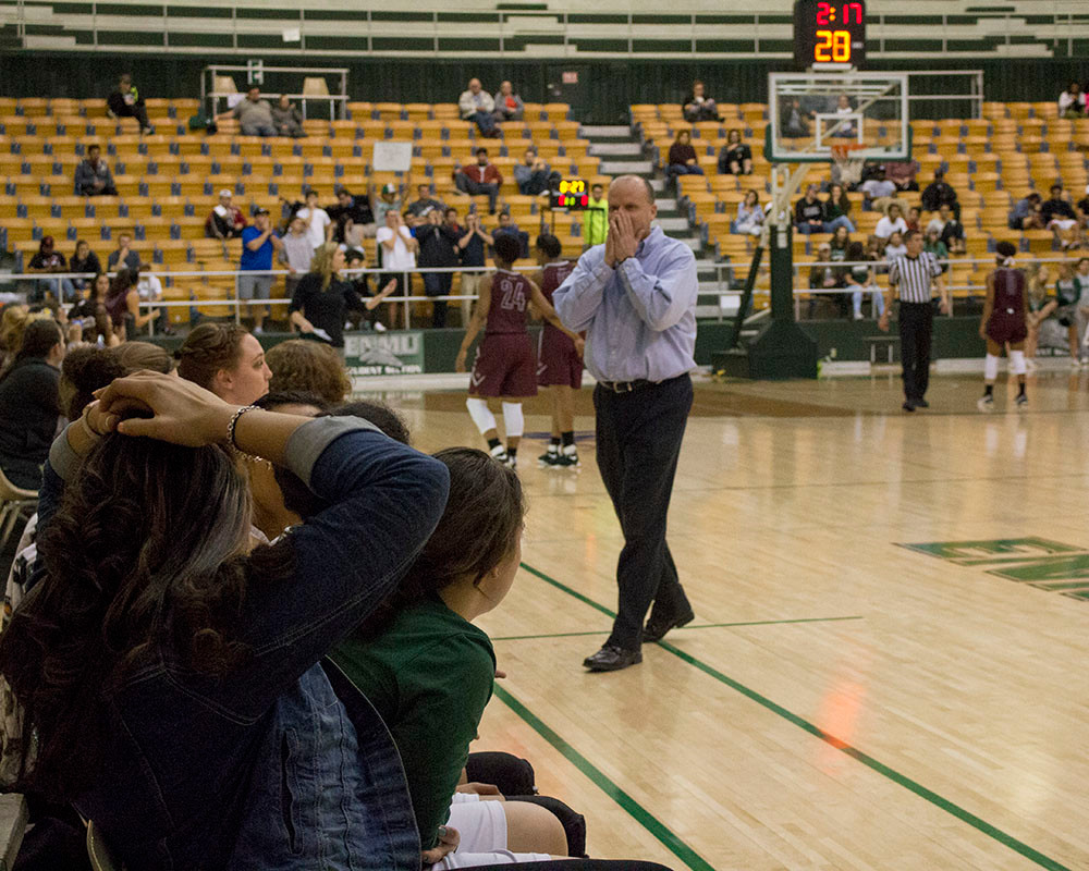 On Thursday, February 9, 2017, with 2 minutes and 17 seconds left in the game, head coach, Josh Prock, receives a technical which sends him up in arms. Despite this call, Eastern New Mexico Greyhounds win their 14th LSC conference win against Texas Woman's University. A historic night for the Greyhounds.