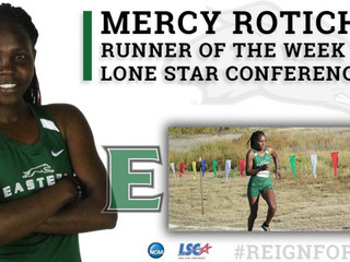 Rotich wins fourth LSC Runner of the Week Award