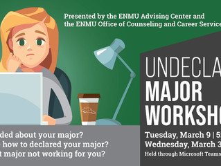 ENMU PROVIDES WORKSHOP FOR STUDENTS WITH UNDECLARED MAJORS