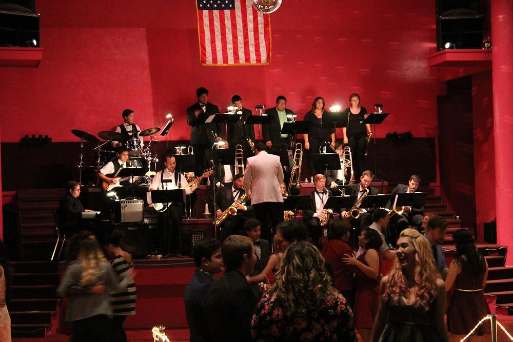 The ENMU Jazz Ensemble