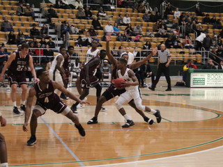 ENMU basketball teams playing hard