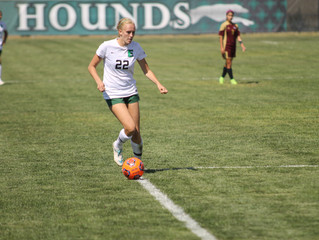 Greyhound Women's Soccer Used Explosive Start to Beat Dustdevils