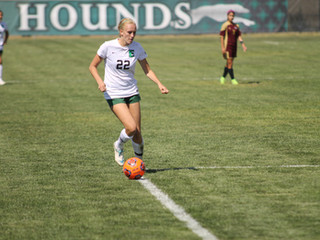 Greyhound Women's Soccer Used Explosive Start to Beat Dustdevils