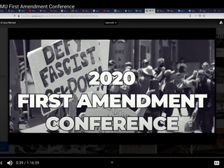 Overview of the First Amendment Conference