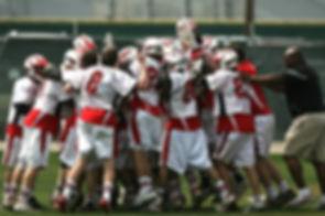Lacrosse Huddle