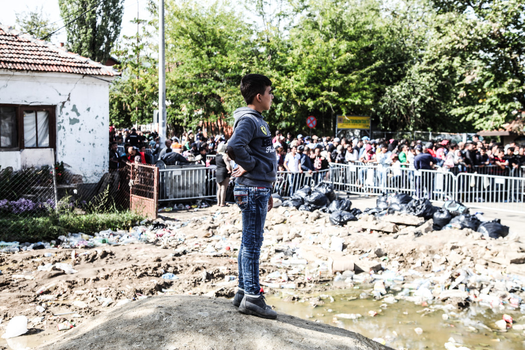 Refugees in Preseve, Serbia