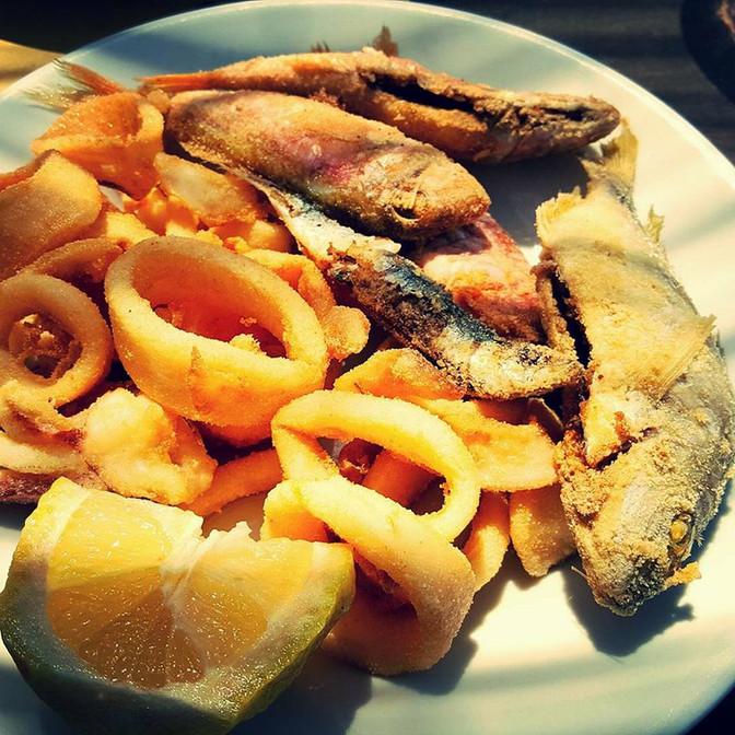 Pesci fritti!
