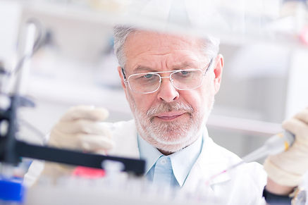 A man in a lab coat