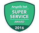 Angie's List super service award logo for 2016
