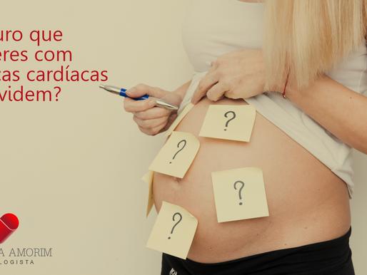 É seguro que mulheres com doenças cardíacas engravidem?
