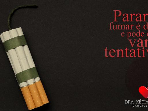 Parar de fumar é difícil e pode exigir várias tentativas. Mas isso todos sabem.