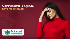 Corrimento vaginal. Devo me preocupar?