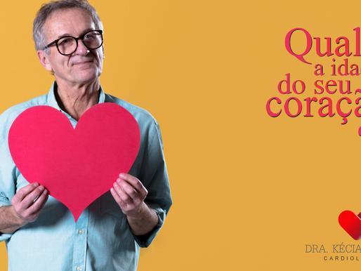 Quantos anos tem seu coração?