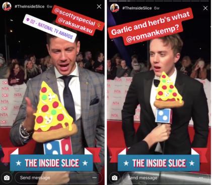The Inside Slice - Domino's