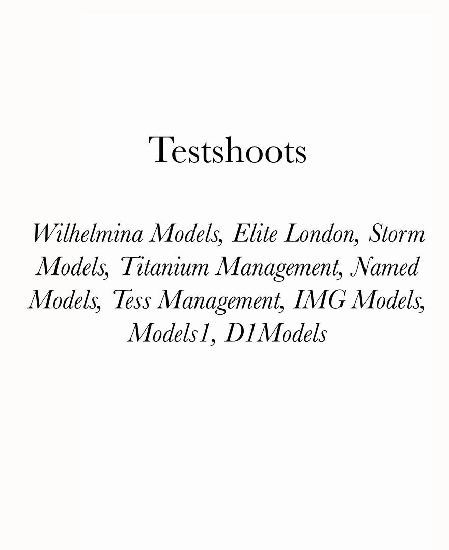 Testshoot
