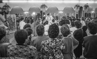Orthodox Wedding, Israel, 1989