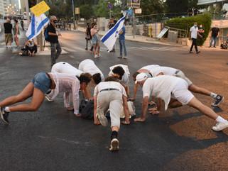 Black Flags Protest, Jerusalem 2020