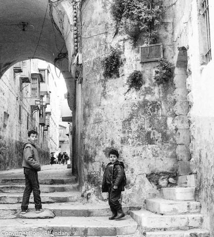 Christmas, Bethlehem, 1987