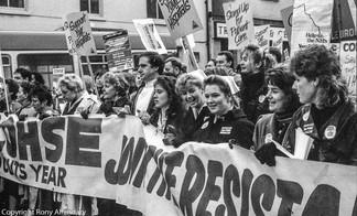 Nurses' Strike, Nottingham, 1988