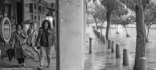 Winter, Tel-Aviv, 1988