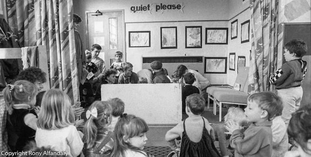 Nursery School, Nottingham, 1988